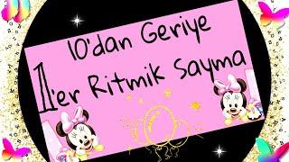 10 dan Geriye Sayma - 1er Geriye Ritmik Sayma