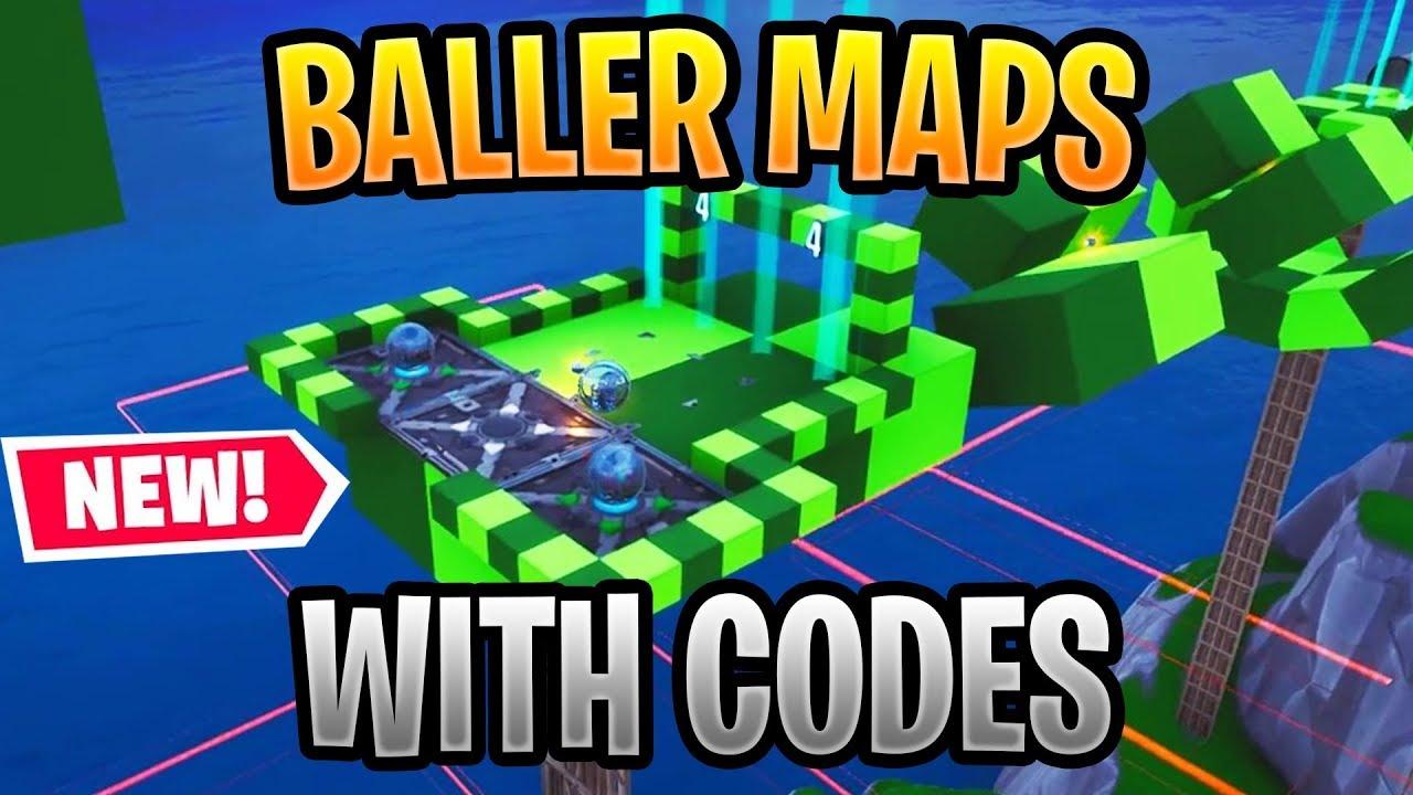 best fortnite baller maps in creative mode baller parkour pinball race deathrun more - baller emote fortnite tracker