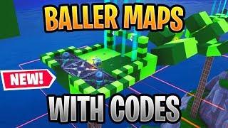Best Fortnite Baller Maps In Creative Mode | Baller Parkour, Pinball, Race, Deathrun & More