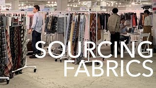 How to Source Fabrics + 3 Interviews from the LA Textile Show