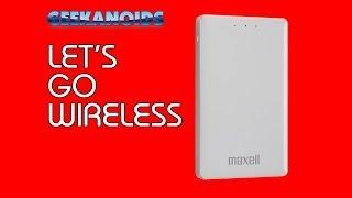 Maxell Tank USB 3.0 Portable Wireless Hard Drive Review