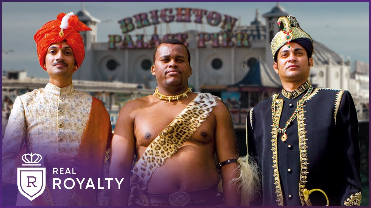The Princes Who Found Love In Brighton   Undercover Princes   Real Royalty with Foxy Games