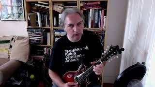 Sporting Molly (reel) on mandolin