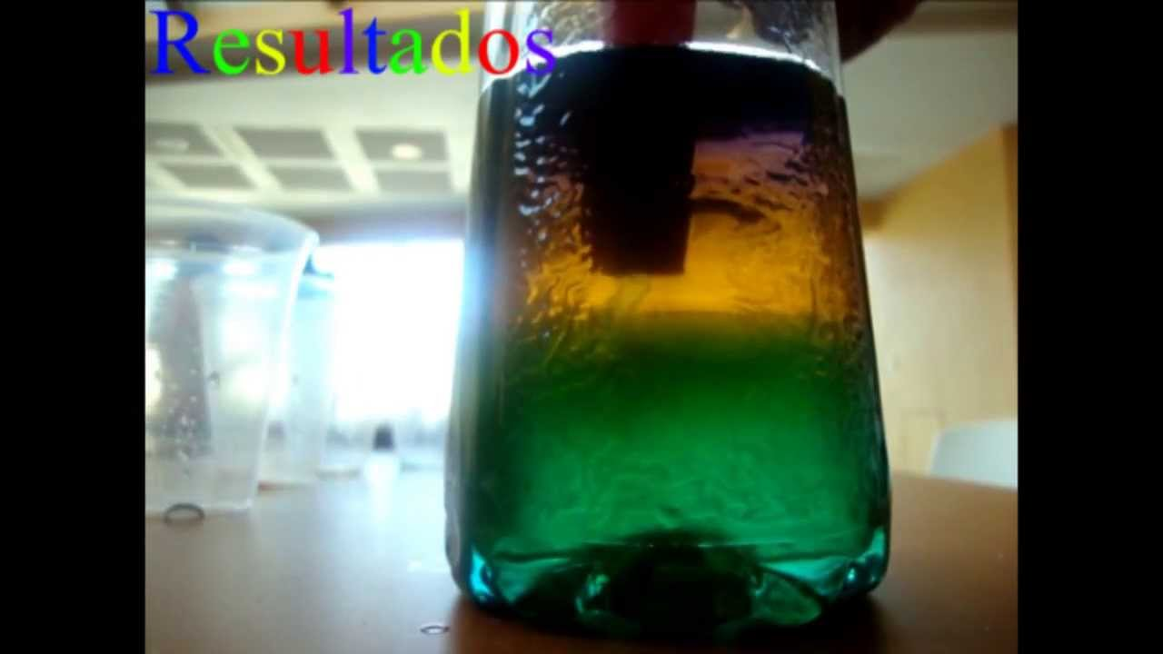 Density Experiment (Rainbow of Sugar) - YouTube