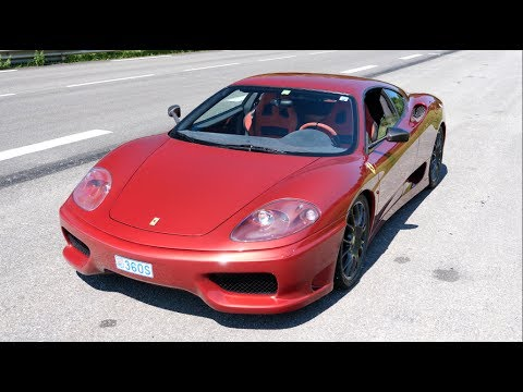 A Random Day With A Ferrari 360 Challenge Stradale
