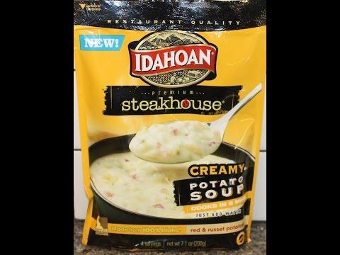 Easy potato soup instant potatoes