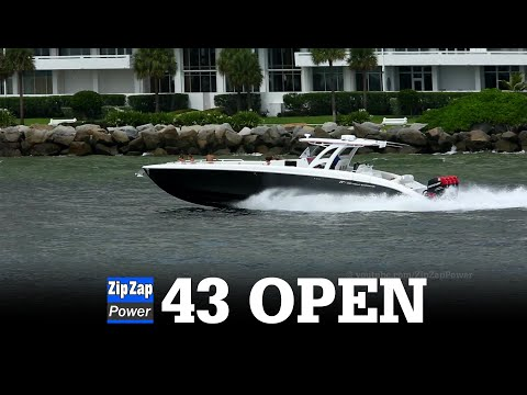 Midnight Express 43 Open Running at Fort Lauderdale
