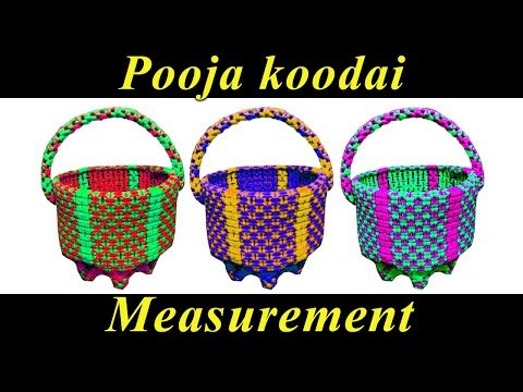 Pooja koodai - Measurement