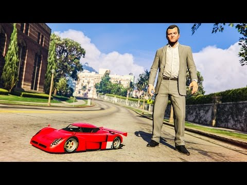 EPIC RC CAR MOD! - (GTA 5 Mods Funny Moments)