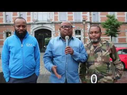 Mobilisation générale contre l'arrivée de Joseph Kabila à Paris le mardi 12/09/2017.