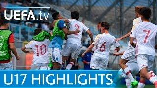 U17 Highlights: Turkey 2-3 Spain