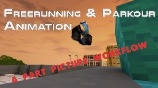 Freerunning & Parkour Animation #07 (Mine imator Workflow) | [Minecraft/마인크래프트] | [Kooreung/구릉]