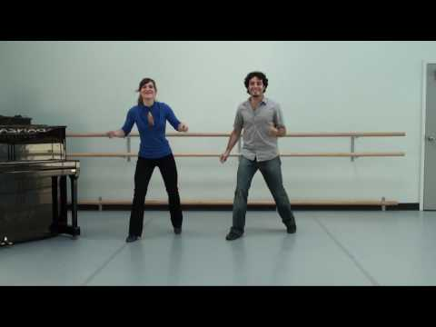Learn The Shim Sham Routine - Full routine on music