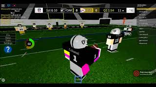 ONE HANDED INT!! | LEGENDARY FOOTBALL (Roblox)
