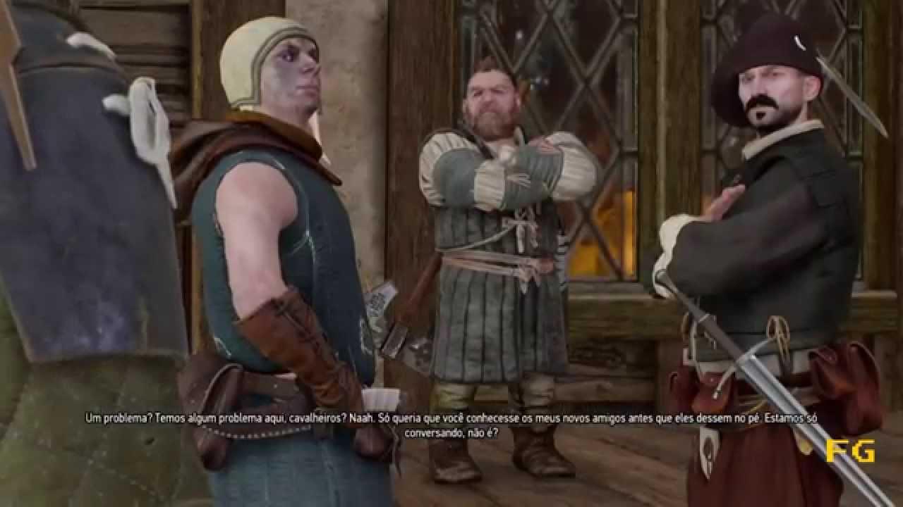 The Witcher 3 Missao Secundaria Um Jogo Perigoso Youtube