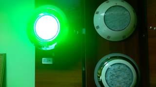 видео Светильники для бассейнов