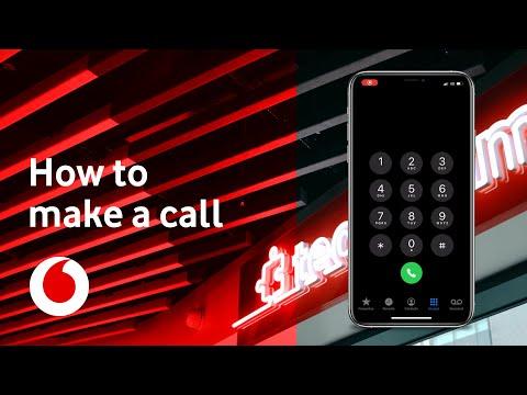 How to make a call   iOS iPhone   TechTeam   Vodafone UK