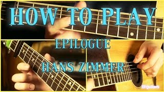 How To Play   Crysis 2 Main Theme on a guitar   EPguitars