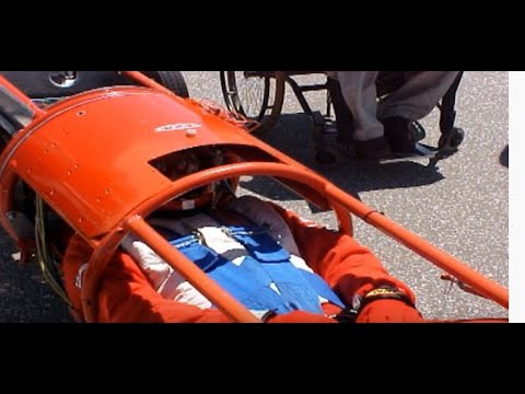 240 mph Motorcycle Crash Bonneville Salt Flats (Team Arrow)