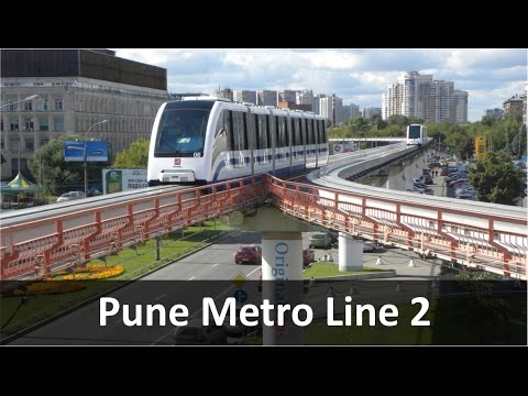Pune Metro Rail Line 2: Mahalaxmi to Baner