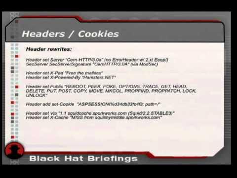 2006 BlackHat Vegas V78 Moyer Defending BlackBox Web Apps