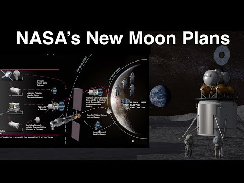 NASA's New Plans To Land Humans On The Moon In 10 Years