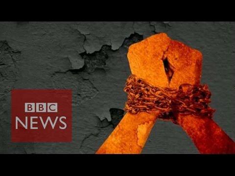 Humano trata de personas en 60 segundos – noticias de BBC