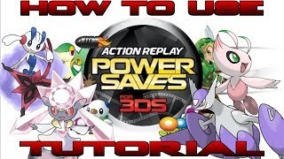 Download lagu How To Tutorial Action Replay Power Saves For 3DS MP3
