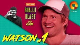 Shane Watson Part 1 | Quick Heal Bhajji Blast with CSK | QuPlayTV