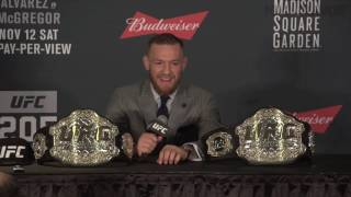Conor McGregor UFC 205 post-fight press conference