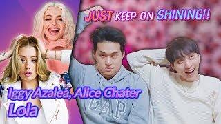 Download lagu K-pop Artist Reaction] Iggy Azalea, Alice Chater - Lola