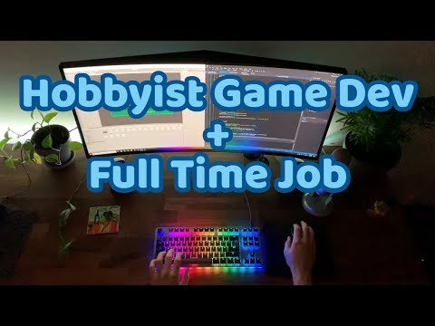 A Day In The Life Of A Game Developer With A Full Time Job
