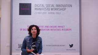 Social Innovators for the Next Generation Internet - Monique Calisti, Director Martel Innovate