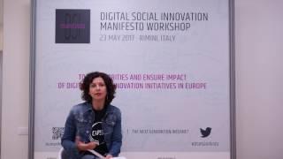 Social Innovators for the Next Generation Internet - Monique Calisti, Director Martel Innovate