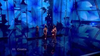 hd igor cukrov feat andrea lijepa tena live 2nd semifinal eurovision song contest 2009 croatia