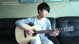 "Sungha http://www.sunghajung.com arranged and played ""Sunday Mornin..."