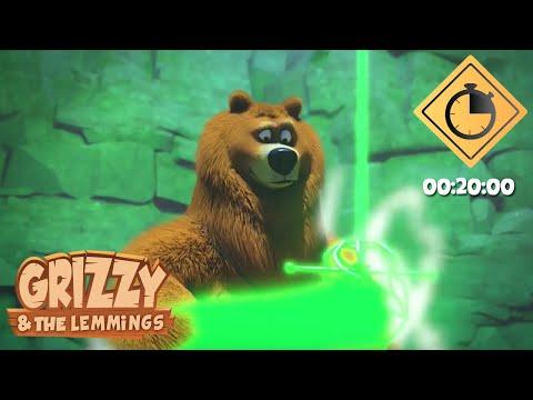 20 minutes de Grizzy & les Lemmings // Compilation #25 - Grizzy & les Lemmings
