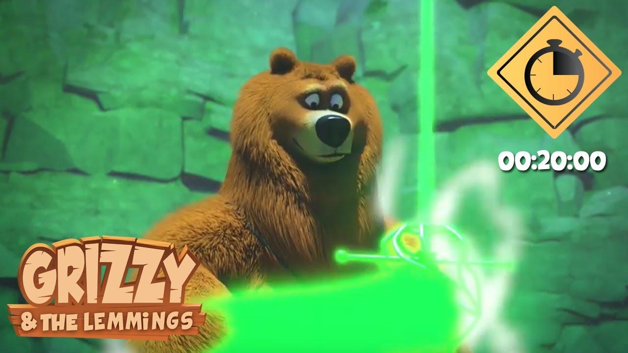 Download 20 minutes de Grizzy & les Lemmings // Compilation #25 - Grizzy & les Lemmings