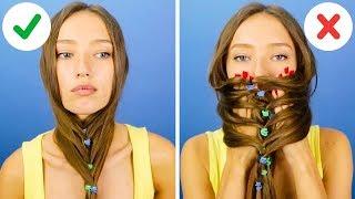 33 حيلة  وخدعة لتسريحات الشعر