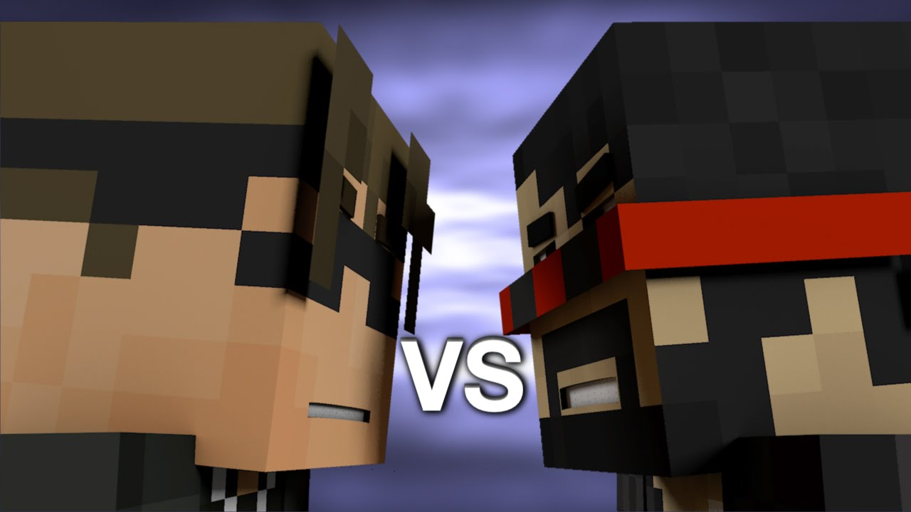 Captainsparklez Vs Skydoesminecraft Minecraft Rap Battle
