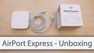 AirPort Express - Unboxing