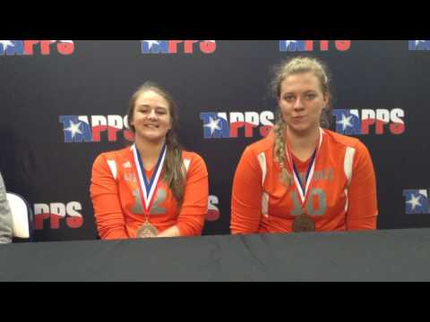 Bulverde Living Rock Academy Post-Game Press Conference Players