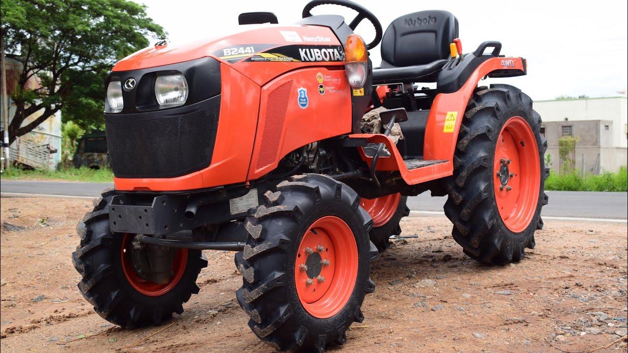 Kubota NeoStar B2441 / 4WD 24HP Mini Tractor / New Kubota