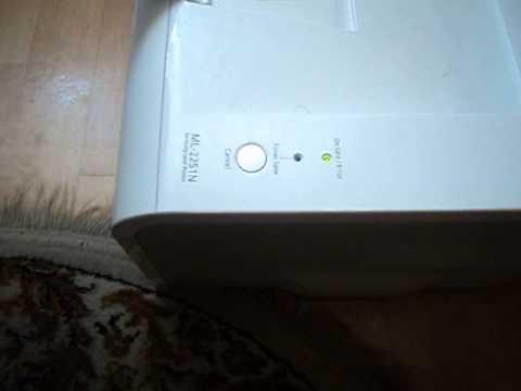 Samsung ML-2251N problem - forum elektroda