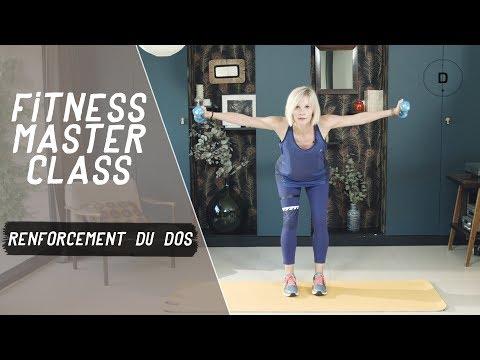 Session renforcement du dos (20min) – Fitness Master Class