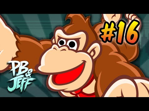 I PRESSED IT TO JUMP!? - Donkey Kong Country 2 #16