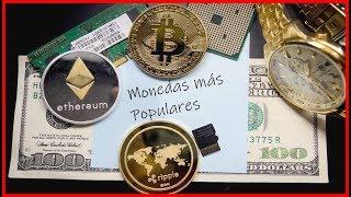 10 Criptomonedas Más Populares 2018 (Bitcoin)