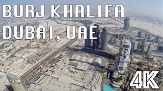 Burj Khalifa Dubai UAE 4K UHD