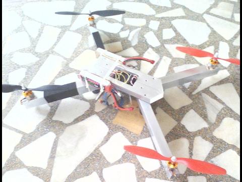 quadcopter-with-aluminium-frame