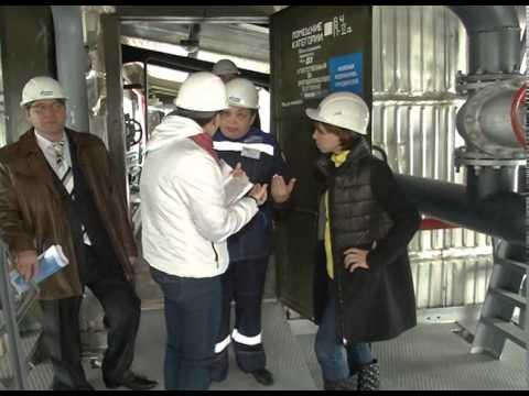Пресс тур в Газпром энерго поселок Пангоды - YouTube